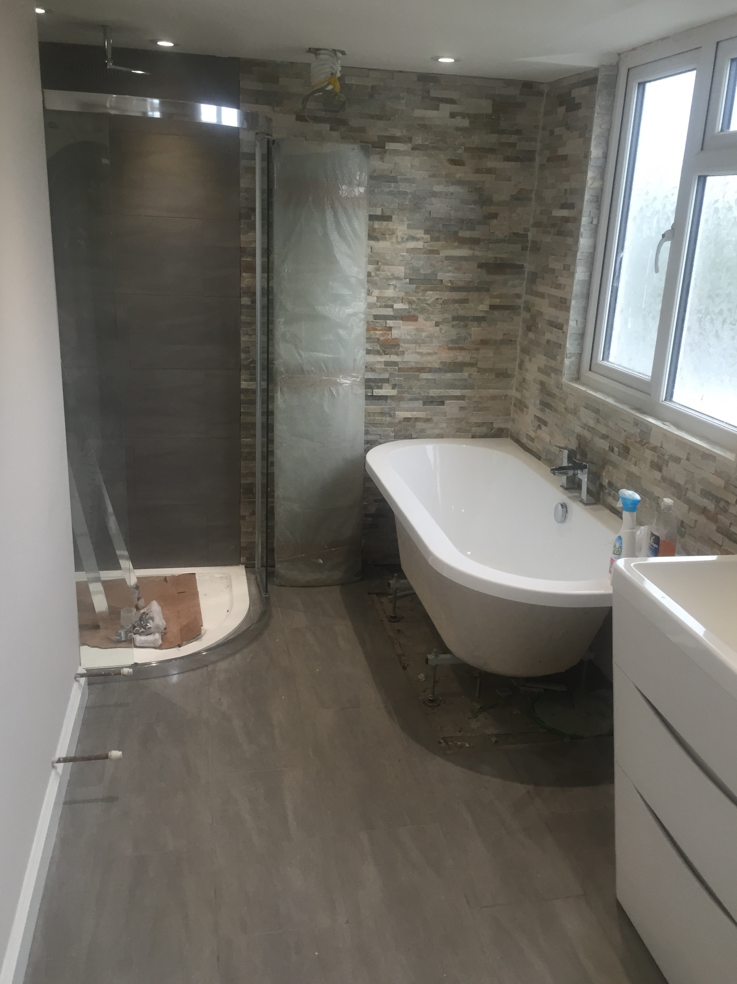 bathroom wet room installation liverpool maintrade