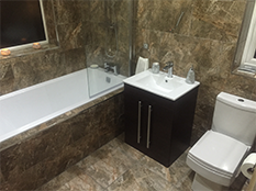 Hotel luxury design, en suite bathroom installation, L12 Featured Image